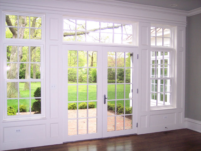 Hinged patio door photo gallery classic windows inc for Double hung french patio doors