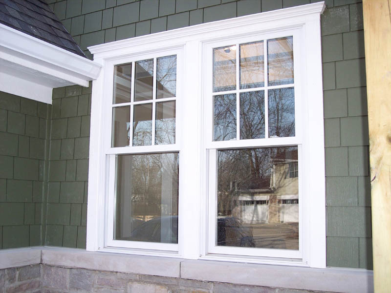 Double Hung Window Photo Gallery on new home exteriors