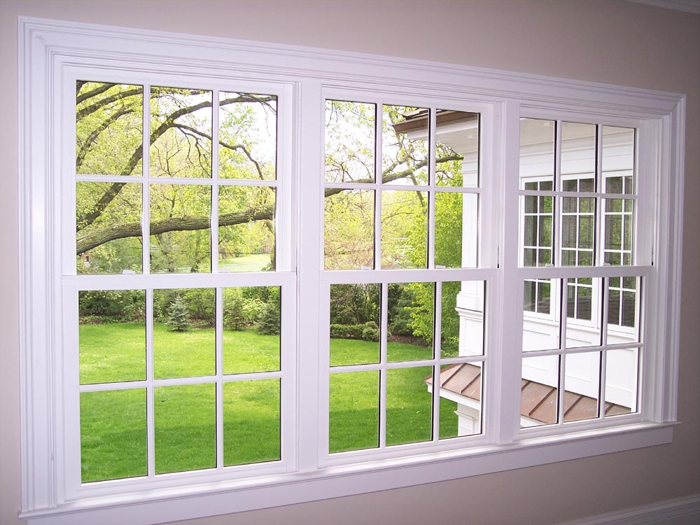 Double hung window photo gallery classic windows inc for Window treatments for double hung windows