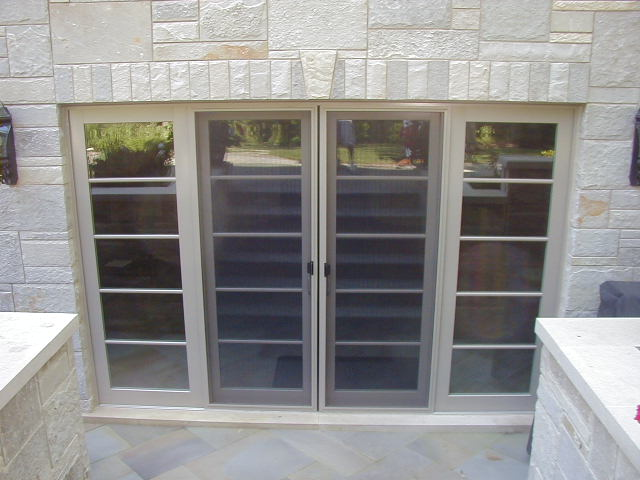 Sliding patio door photo gallery classic windows inc for Double hung french patio doors