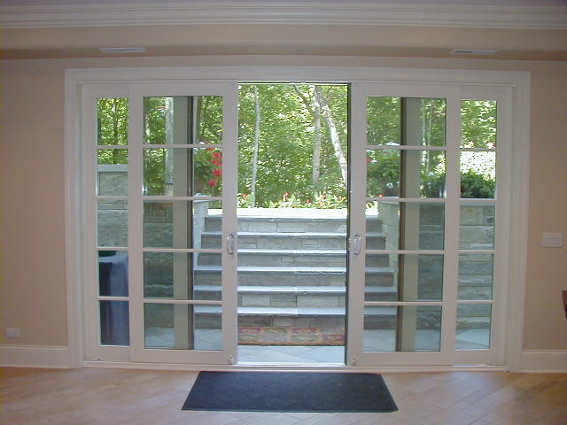 classic french sliding patio door interior 2 - Sliding Patio Doors